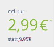 Knaller! 🔥 Vodafone Tarif mit 100 Freiminuten + 1GB für 2,99€ mtl.