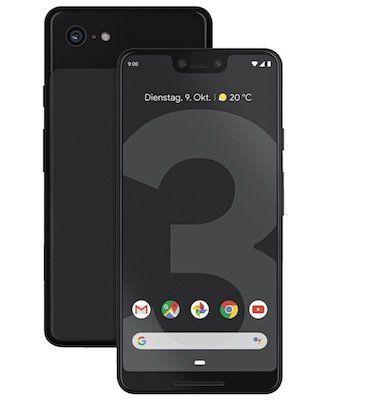 Google Pixel 3 XL für 49€ + o2 Allnet Flat mit 5GB LTE für 24,99€ mtl.