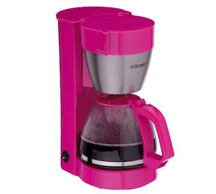 Cloer 5017 1 Kaffeemaschine in Pink für 18€