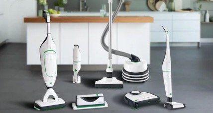 Vorwerk Staubsauger Angebote   z.B. Basis Premium Set (VK 200, Elektrobürste, Akkusauger) für 749€ (statt 862€)
