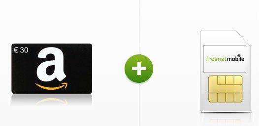 30€ Amazon Gutschein für einmalig 5,85€ dank 3er Pack 8 Cent Tarife (monatlich kündbar)