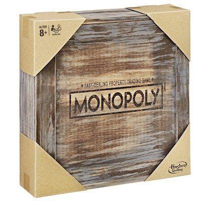 Hasbro Monopoly Holz Sonderedition für 33,95€ (statt 50€)