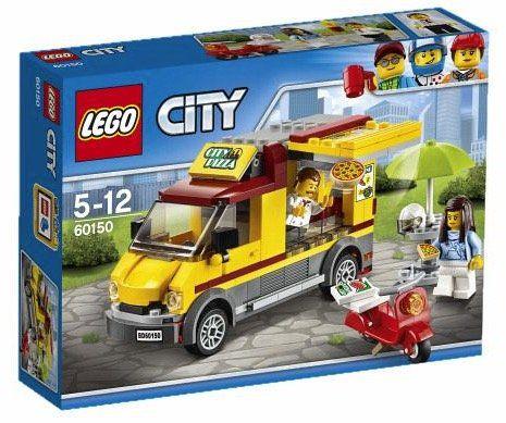 Lego City 60150 Pizzawagen für 11,30€
