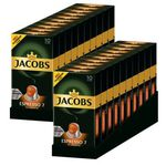 200er Pack Jacobs Espresso 7 Classico Nespresso kompatible Kaffeekapseln für 19,90€ – MHD 10.11.2018