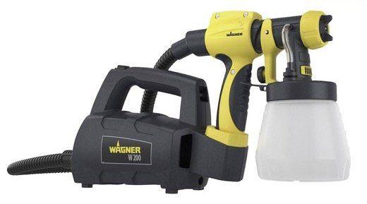 Wagner W200 Farbsprühgerät für Holz und Metall für 55,90€ (statt 90€)