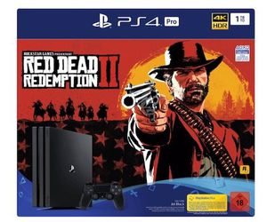 PlayStation 4 Pro 1TB + Red Dead Redemption 2 ab 339€