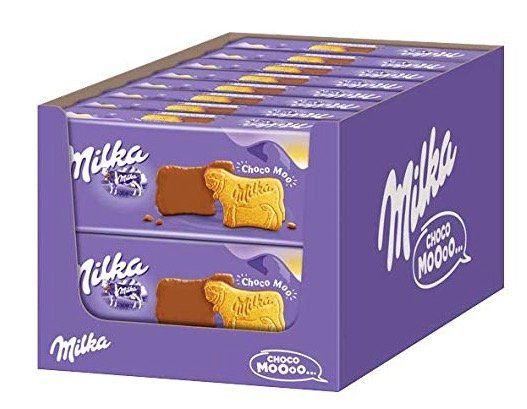 Vorbei! 16er Pack Milka Choco Moo   Keks mit zarter Alpenvollmilch Schokolade je 200g für 14,32€ (statt 29€)