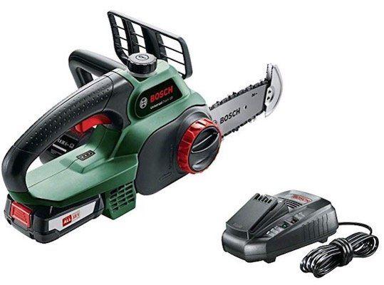 Ausverkauft! Bosch UniversalChain 18V Akku Kettensäge (mit Akku und Ladegerät) für 113,99€ (statt 156€)