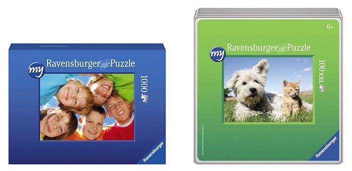 Ravensburger personalisierte Puzzle & Spiele bei vente privee   z.B. 1.000 Teile Fotopuzzle ab 16,90€ (statt 25€)
