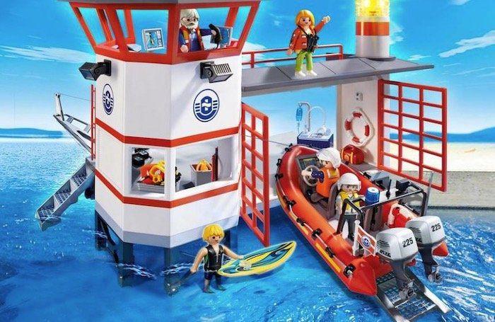 Playmobil City Action   Küstenwachstation mit Leuchtturm (5539) für 39,99€ (statt 52€)