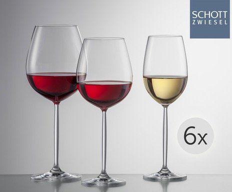 Schott Zwiesel Weinglas Set Diva 18 tlg. für 75,91€ (statt 90€)