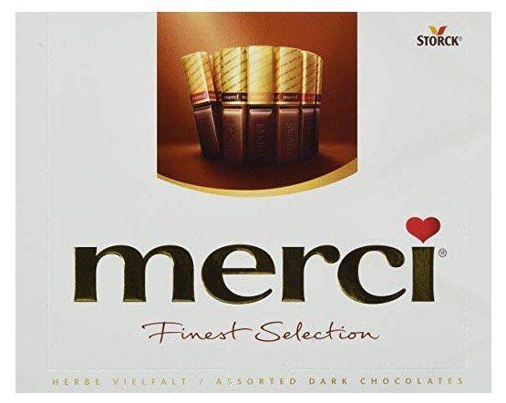 Abgelaufen! 5er Pack merci Finest Selection Herbe Vielfalt Schokoladen Spezialitäten ab 6,68€ (statt 15€)
