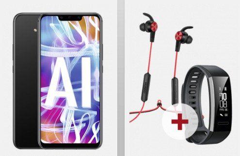 Huawei Mate 20 lite + Sport Kopfhörer + Fitnessarmband für 4,95€ + Vodafone Flat von otelo mit 5GB LTE für 24,05€ mtl.