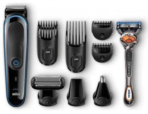 Braun Multigrooming Set MGK3080   9 In 1 Präzisionstrimmer inkl. Gillette ProGlide für 29,99€