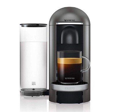 Krups XN900T Nespresso Vertuo Plus Kaffeekapselmaschine für 99€(statt 129€)