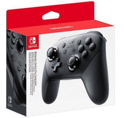 Vorbei! Nintendo Switch Pro Controller ab 54,99€ (statt 62€)