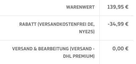 Tipp: Afew Store feiert Neujahr mit 25% Rabatt auf fast alles   z.B. New Balance MS X 90 BG für 67,46€ (statt 110€)