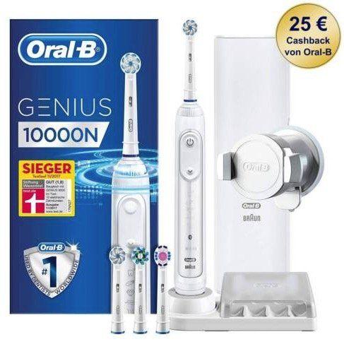 Media Markt Oral B Zahnbürsten mit bis 30€ Sofortrabatt   z.B. ORAL B Genius 10000N für 89€ (statt 125€)