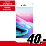 iPhone 8 (64 GB) für 40€ + Vodafone Allnet-Flat mit 2GB für 26,99€ mtl.