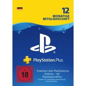 Abgelaufen! PlayStation Plus (365 Tage) für 44,99€ (statt 51€)