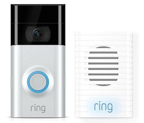Ring Video Türklingel 2 + gratis Chime Türgong für 164€ (statt 184€)