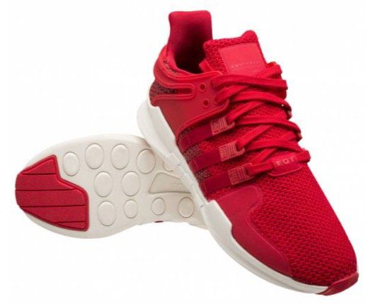 adidas Originals Equipment Support ADV Sneaker in Rot ab 50,98€ (statt 80€)   nur 44 bis 49