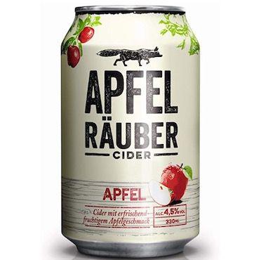 24er Pack Apfel Räuber Cider für 14,99€ (statt 19€)   Prime