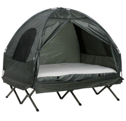 eBay: 15% Gutschein für Sport- und Outdoor-Angebote – z.B. Campingzelt mit erhöhtem Bett für 157€ (statt 175€)