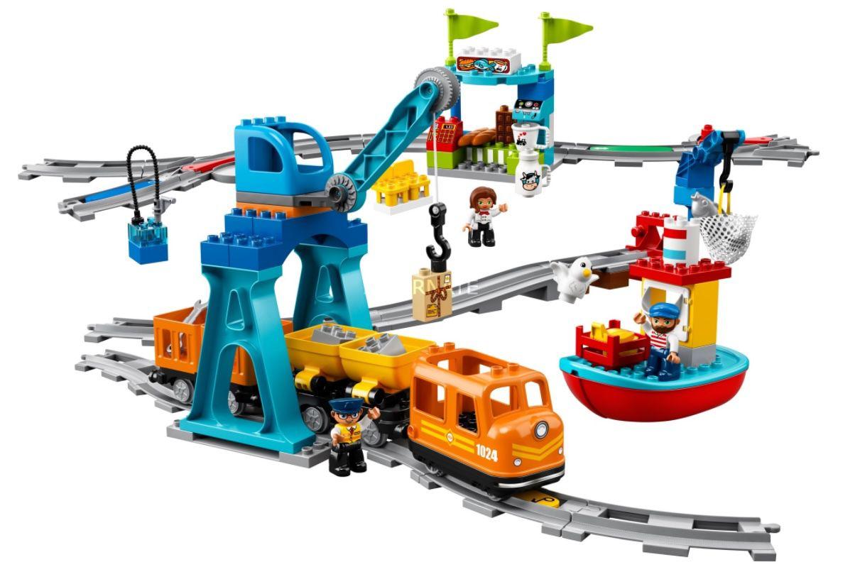 Lego Duplo   Güterzug (10875) für 79,90€ (statt 90€)