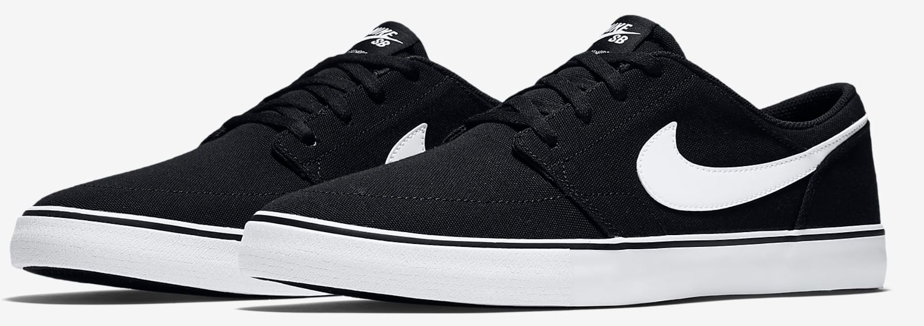 Nike SB Solarsoft Portmore II Herren Skateboardschuh aus Segeltuch für 36,73€ (statt 75€)