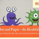 Malbuch: Blubsi und Pupsi – die Bioabfall-Helden kostenlos anfordern