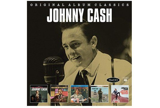 Johnny Cash   Original Album Classics (CD) für 7€ (statt 10€)