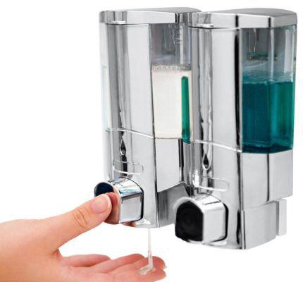 VITALmaxx Seifenspender   Duschgel & Seife per Knopfdruck für 14,99€ (statt 20€)
