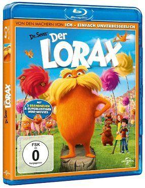 Der Lorax als Blu ray für 5€ (statt 7€)