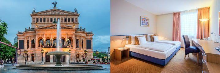 1   4 ÜN im 4* Hotel in Offenbach a. M. inkl. Frühstück & SPA Nutzung ab 35€ p.P.