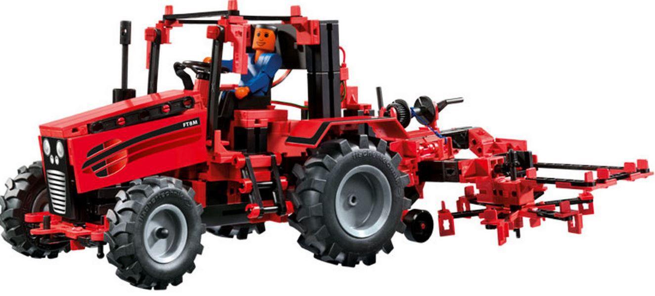 FISCHERTECHNIK 524325 Traktor Set mit IR Fernbedienung für 62,99€ (statt 92€)