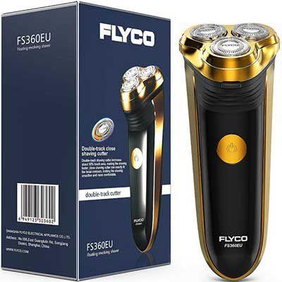 Flyco FS360EU   Elektrorasierer mit Pop Up Trimmer für 15,59€