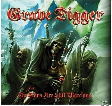 Grave Digger   The Clans Are Still Marching als CD + DVD für 13€ (statt 19€)
