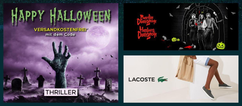Shopping Club Vente Privee   Halloween ohne Versandkosten ab 50€ MBW