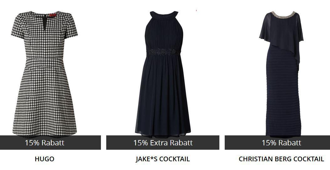 Top! Peek & Cloppenburg* Black Night mit 15% extra Rabatt auf Anzüge, Hemden & Kleider
