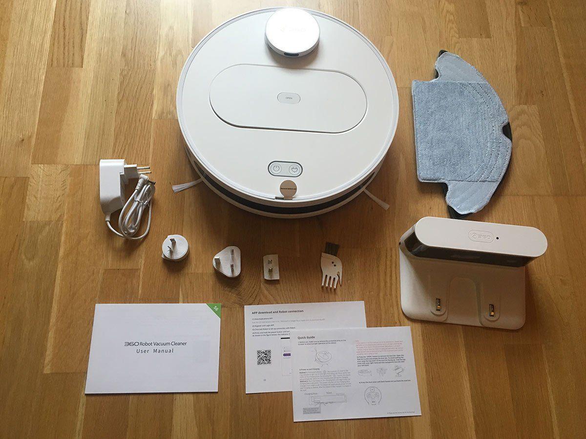 Test des 360 S6 – Staubsaugerroboter
