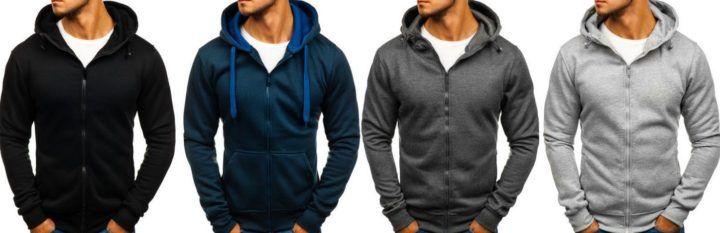 J.Style Herren Hoodies div. Farben bis 2XL für je 11,95€ (statt 18€)