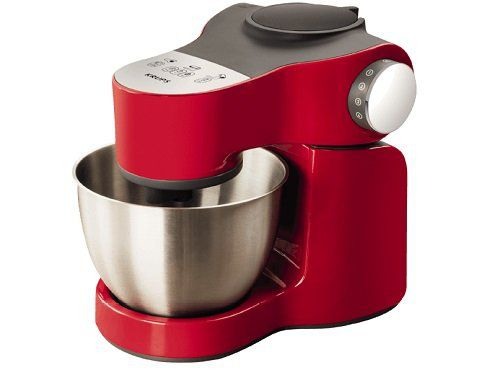 KRUPS KA2535 Master Perfect Plus Küchenmaschine in Rot/Edelstahl für 149€ (statt 196€)
