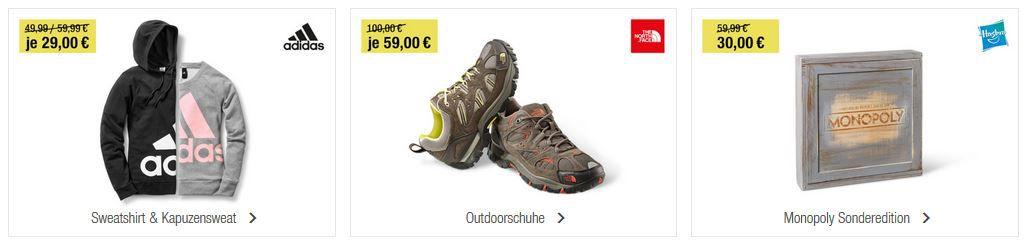 GALERIA Kaufhof 6 Tage Rennen bis zu 15€ sparen + Tagesangebote z.B. OLYMP Businesshemden ab 25€ (statt 36€)