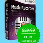 Leawo Music Recorder (Vollversion, Windows) gratis