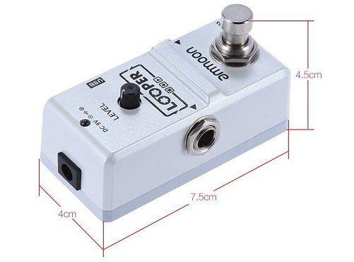 Ammoon AP 09 Nano Looper für E Gitarren, Effektpedal mit 10 Minuten Aufnahme für 24,59€ (statt 31€)
