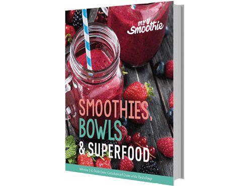 Vorbei   MYSMOOTHIE MS 300 Smoothies, Bowls und Superfood Kochbuch für 4€ (statt 8€)