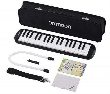 ammoon Melodica mit 37 Tasten für Anfänger für 23,49€ (statt 47€)
