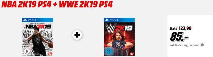 NBA 2K19: 20th Anniversary Edition [PS4] für 67€ (statt 83€) uvm. im Media Markt Dienstag Sale