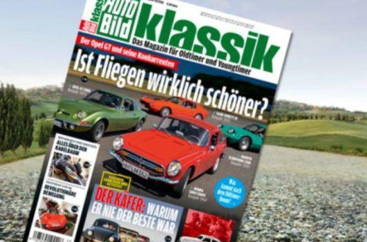 Auto Bild klassik   3 Monate Schnupperabo für 14,40€ inkl. 14,40€ V Scheck